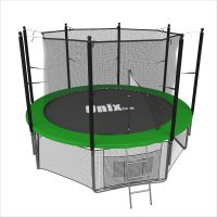 Батут UNIX line 12 ft inside green