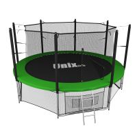 Батут UNIX line 14 ft inside green